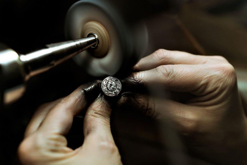 ring anello diamond diamante gold oro high jewellery lens artisan artigiano gioielleria reportage alberto feltrin