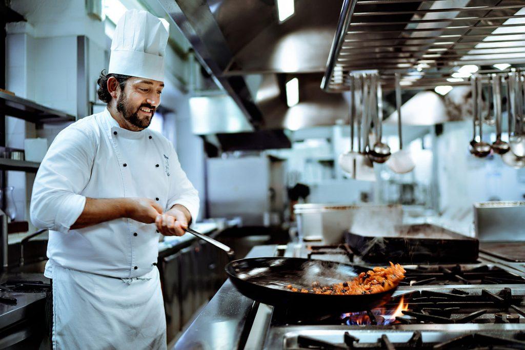 food chef michelin cibo cuoco alberto feltrin reportage