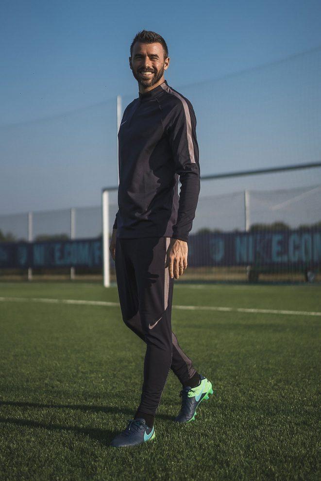 andrea barzagli portrait ritratto juventus nike football alberto feltrin